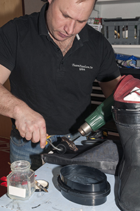 Montering av boots